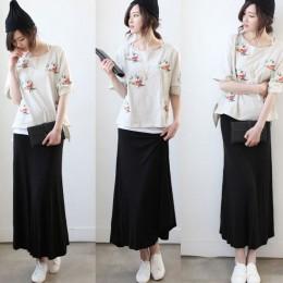 品名: 波西米亞大擺裙長裙魚尾裙(深灰色) J-13623 全新 G-1393
