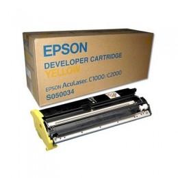 EPSON S050034 黃色碳粉匣(原廠) 全新 G-3602