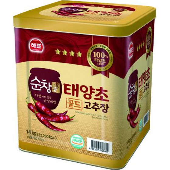 해표思潮辣椒醬 14kg桶裝 全新 G-4118