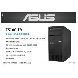 ASUS TS100-E9 直立式伺服器 整機原廠配件 全新 G-1986