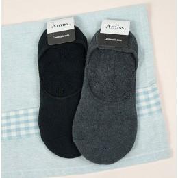 品名: 一體成型隱形氣墊襪厚底超低口-後跟防滑(黑色) J-13717 全新 G-1869