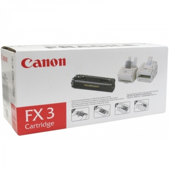Canon FX3 黑色碳粉匣(原廠) 全新 G-3186