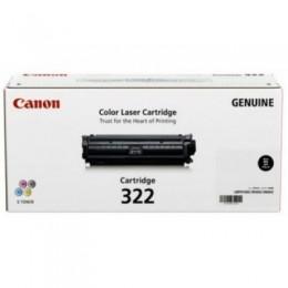 Canon 322 K 黑色碳粉匣(標準容量)(副廠) 全新 G-3581