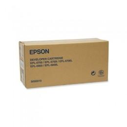 EPSON S050010 黑色碳粉匣(原廠) 全新 G-3599