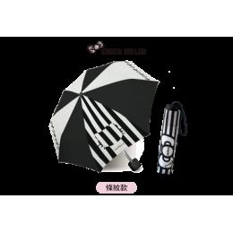7-11 晴雨兩用折傘(條紋款) 全新 G-3720