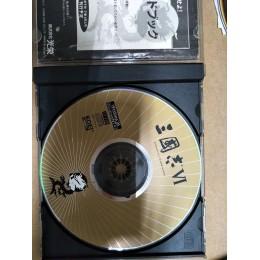 代售_三國志VI原版遊戲光碟無包裝盒無說明書 五成新 G-4239