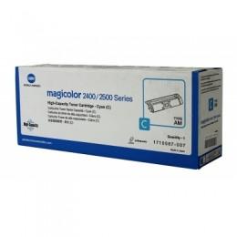 Konica Minolta 1710587-007 藍色碳粉匣(高容量)(副廠) 全新 G-4254