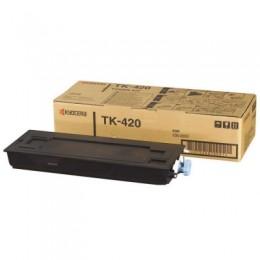 Kyocera TK-420 黑色碳粉匣(副廠) 全新 G-4306