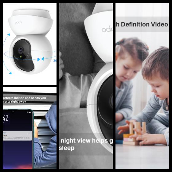 Tapo C200 旋轉式家庭安全防護 Wi-Fi 攝影機 全新 G-4378