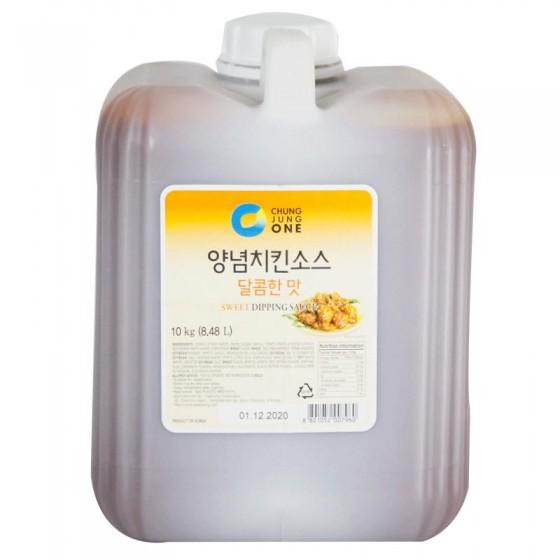 清淨園炸雞醬-甜味양념치킨소스-달콤한맛-10kg 全新 G-4415