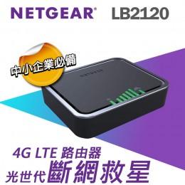 NETGEAR LB2120 4G LTE 路由器 全新 G-4690