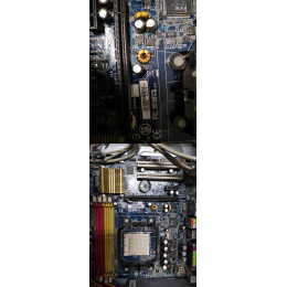 贈品_二手商品_技嘉主機板 GIGABYTE GA-M61PM-S2(USB連接無反應) 四成新 G-4747