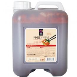 清淨園辣味烤肉醬청정원돼지불고기양념10kg 全新 G-5035