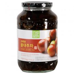 世比芽蜂蜜紅棗茶세비아-대추차1kg 全新 G-5102