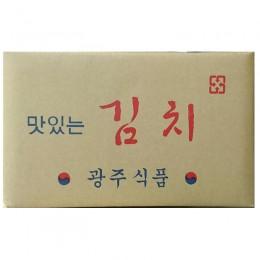 低溫配送_光州泡菜광주김치10kg 全新 G-5153
