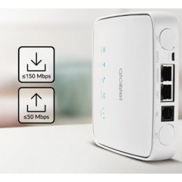 Alcatel 4G LTE 行動無線 WiFi分享 路由器-LINKHUB HH41 支援台灣全頻 全新 G-5314