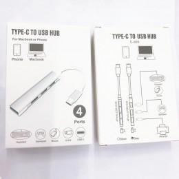 品名: 迷你type-c集線器USB 3.0 HUB集線器 J-14697 全新 G-5893