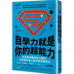 自學力就是你的超能力:從技能堆疊到能力變現,你所有的投入都不會徒勞無功 時報出版派特‧福林 七成新 G-5907