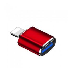 現貨_品名: 蘋果otg轉接頭lightning轉usb3.0轉換器iPad(顏色隨機) J-14690 全新 G-5965