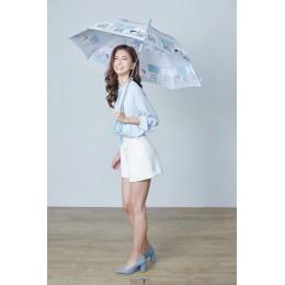 7-11哆啦A夢限量變色大直傘雨傘遇水會變色(漫畫款) 全新 G-6548