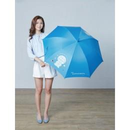 7-11哆啦A夢限量變色大直傘雨傘遇水會變色(剪影款) 全新 G-6549
