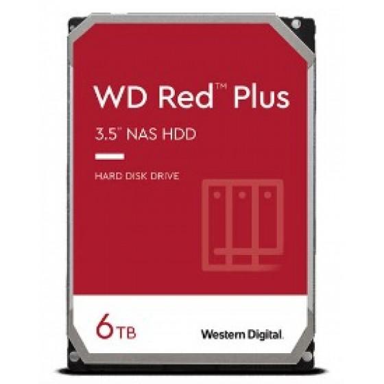 WD紅標Plus 6TB 3.5吋NAS硬碟 全新 G-6709