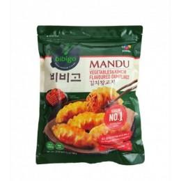 低溫配送_bibigo 韓式泡菜餃子 規格重量780公克 全新 G-6877