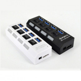 品名: 環保包裝TYPE-C USB 3.0 HUB 4PORT 3.0集線器(變壓器)(顏色隨機) J-14713 全新 G-6887